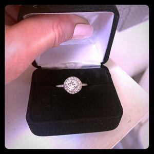 Swarovski Crystal Round Ring